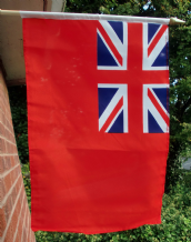 HAND WAVING FLAG - British Red Ensign
